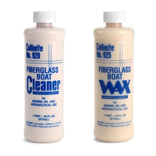 Collinite 920 Fiberglass Boat Cleaner & 925...
