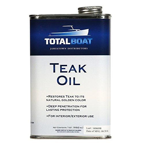 TotalBoat Teak Oil - Premium Marine Wood...