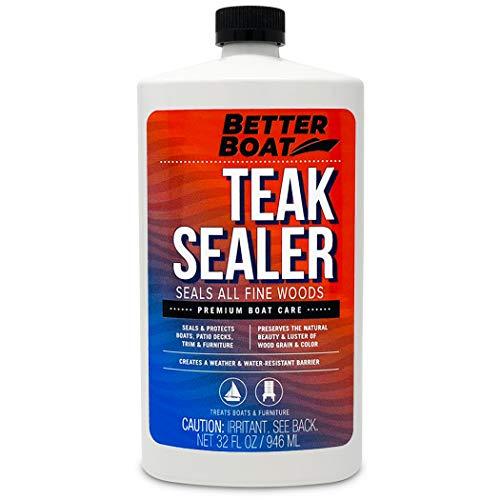 Teak Sealer for Teak and Other Fine Woods...