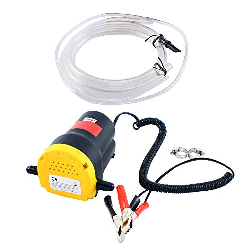 DasMarine 12V 60W Oil Change Pump Extractor,...