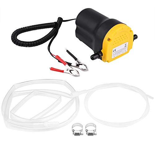 Qiilu Oil Change Pump Extractor, DC 12V 60W...