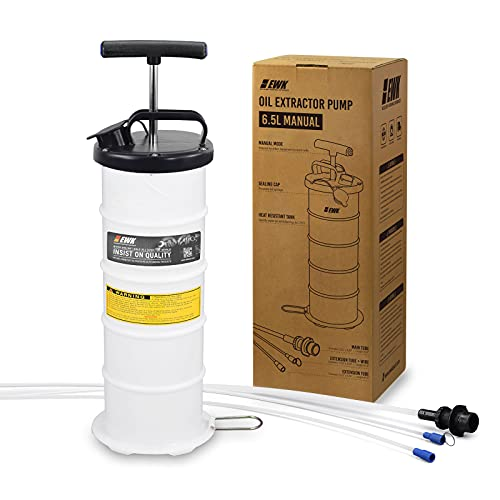 EWK 6.5L Manual Oil Extractor Pump Vacuum Oil...