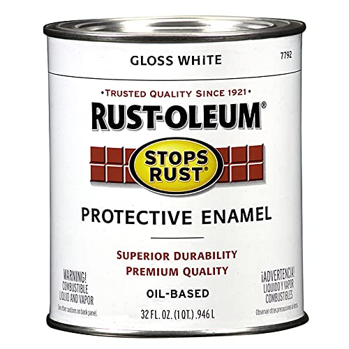 Rust-Oleum 7792502 Stops Rust Brush On Paint,...
