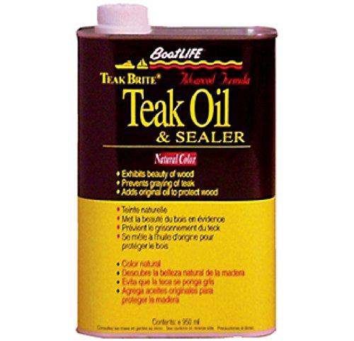 BoatLIFE Teak Oil Quart, Natural