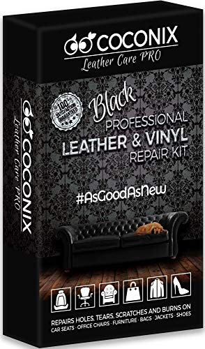 Coconix Black Leather Repair Kits for Couches...