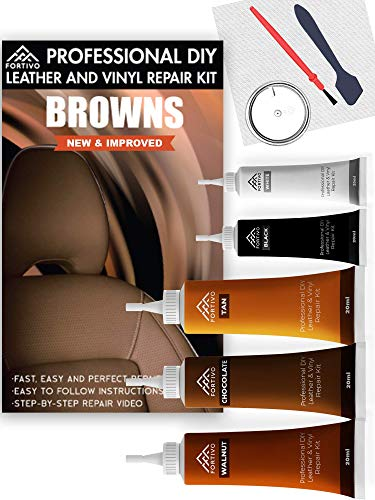 Leather Repair Kits for Couches Brown- Vinyl...