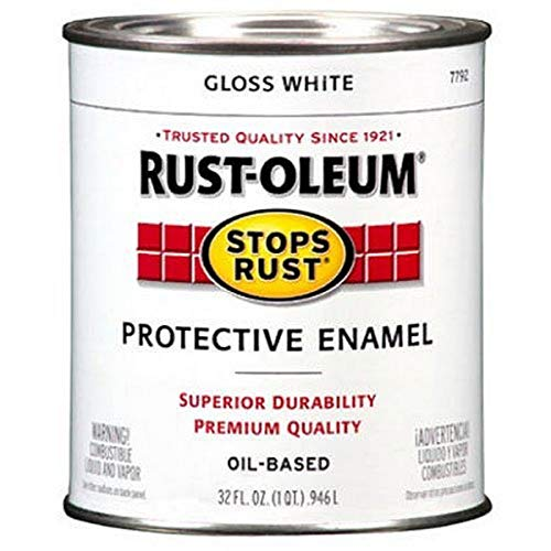 Rust-Oleum 7792504 Stops Rust Brush On Paint,...