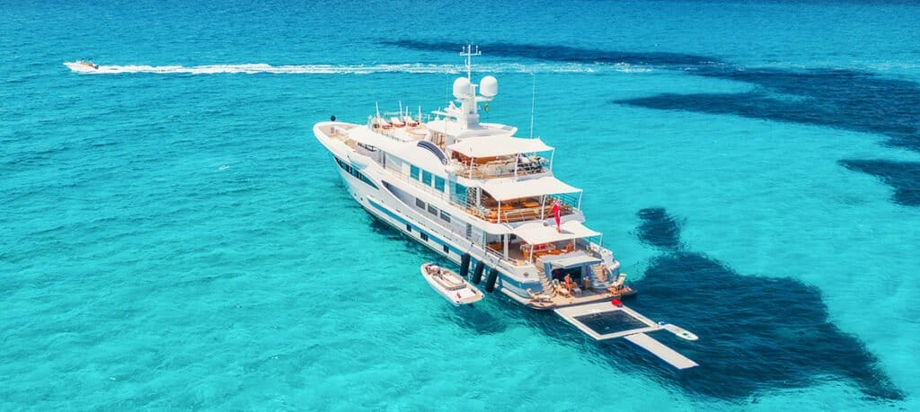 6 figures yacht
