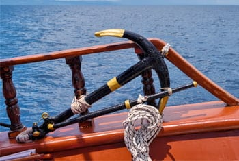 boat beach anchor