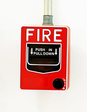 fire on boat alarm