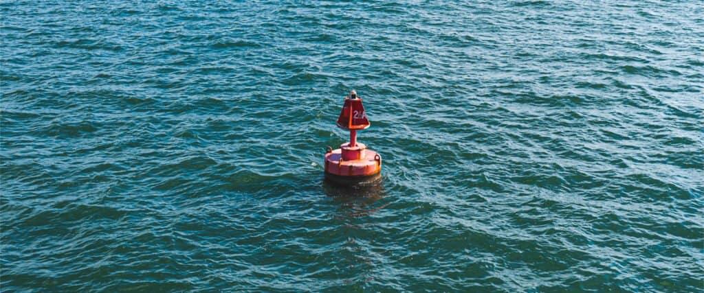 water marker buoy spherical