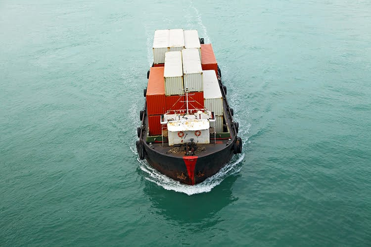 cargo ship distribute wait evenly