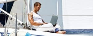 how to get wifi on a boat