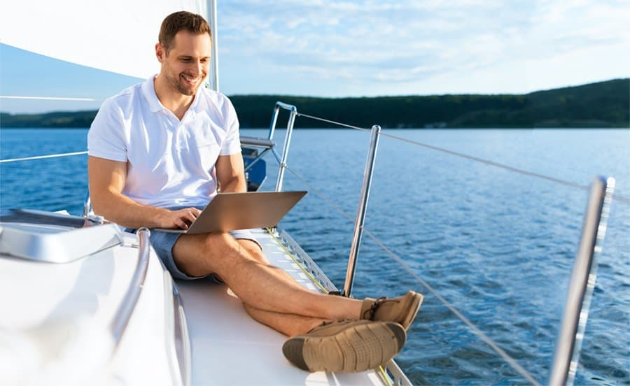 getting wifi for yachts